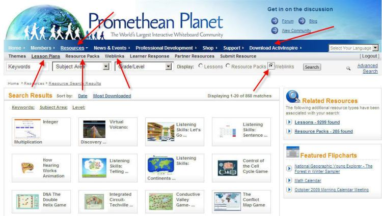 Promethean Planet Pic
