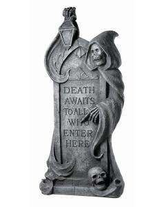 Death Awaits Tombstone
