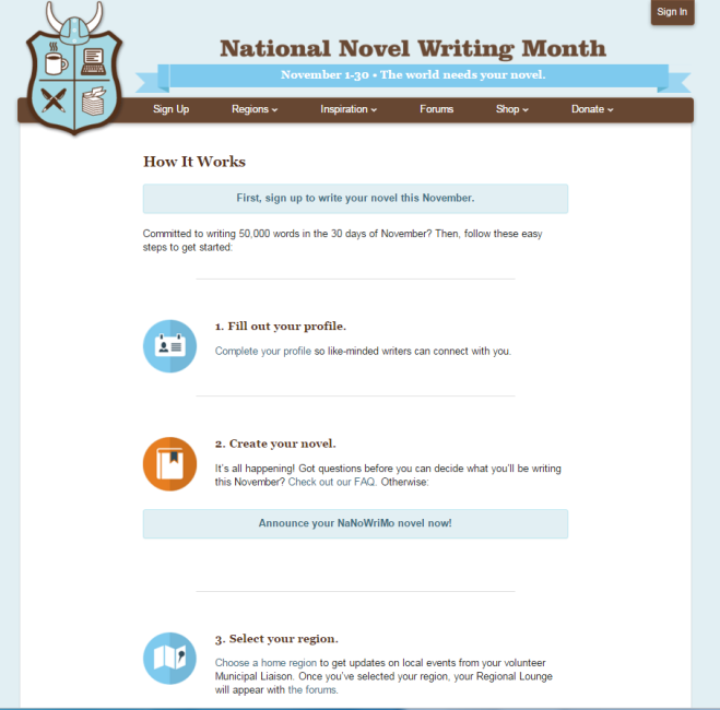 NaNoWriMo How To