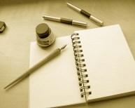 Writing- Blank Paper
