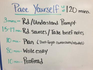 writing informational essay outline